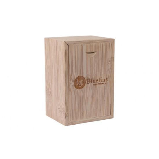 Bamboo Light Wood Slider Gift Box
