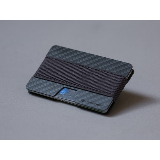 Carbon Fiber Cards Holder