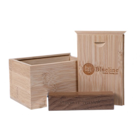 Personalized Wooden Powerbank