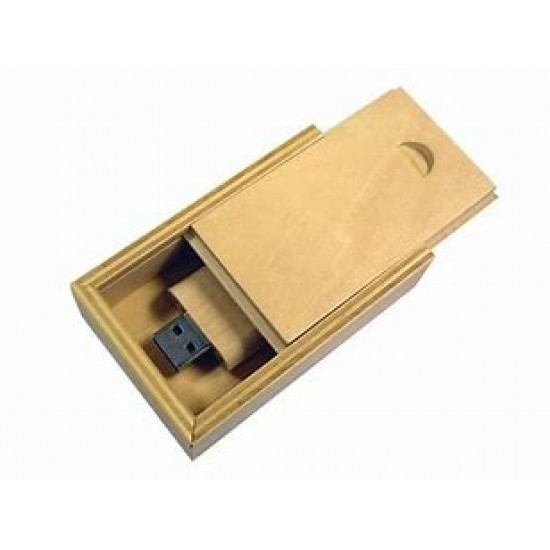 USB in Wooden Box